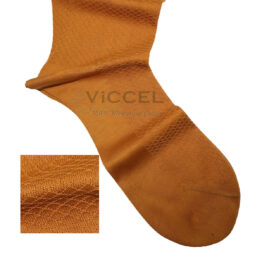 Viccel Socks - Golden Textured Fish Cotton Socks