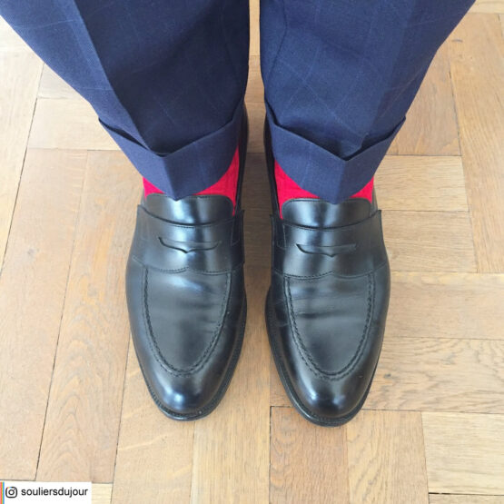 Viccel scarlet Red Over the calf socks Over the knee cotton socks buy socks