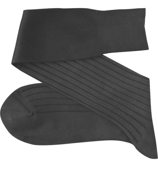 Viccel Charcoal Over the calf socks Over the knee cotton luxury socks buy socks luxury socks