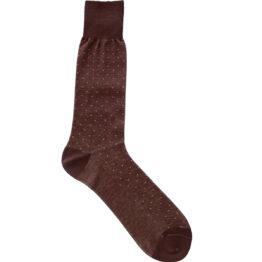 Viccel Socks - Brown Beige Mid Calf Socks