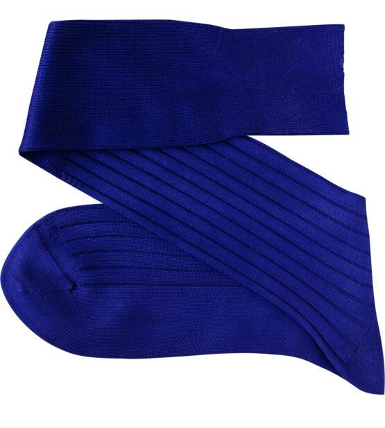 Viccel Egyptian Blue Over the calf socks Over the knee cotton socks buy socks