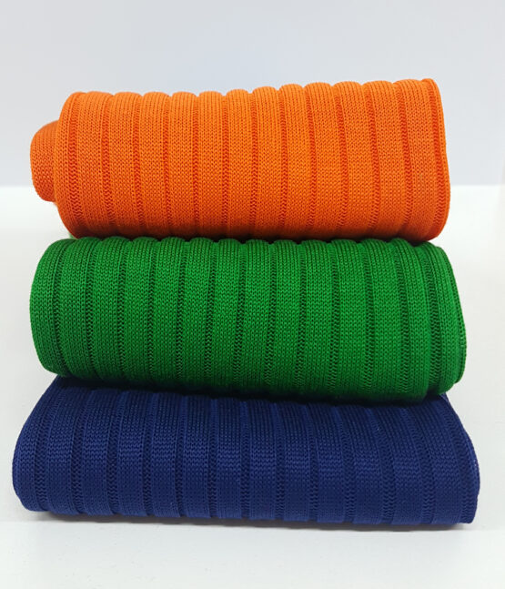 Orange, Pistacio Green and Egyptian Blue Luxury socks Where to Buy Socks, non synthetic socks prevent foot odor, fresh feel in the day time
