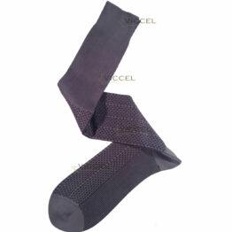 Viccel Gray Black Plus Design Over The Calf Cotton luxury Socks Buy socks