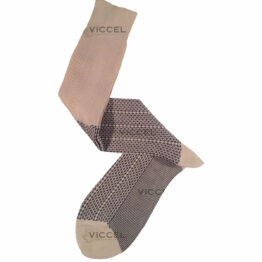 Raw Black Plus Design Over The Calf Cotton Luxury socks