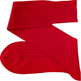 Viccel scarlet Red Over the calf socks Over the knee cotton socks buy socks