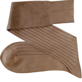 Viccel tan Over the calf socks Over the knee cotton luxury socks