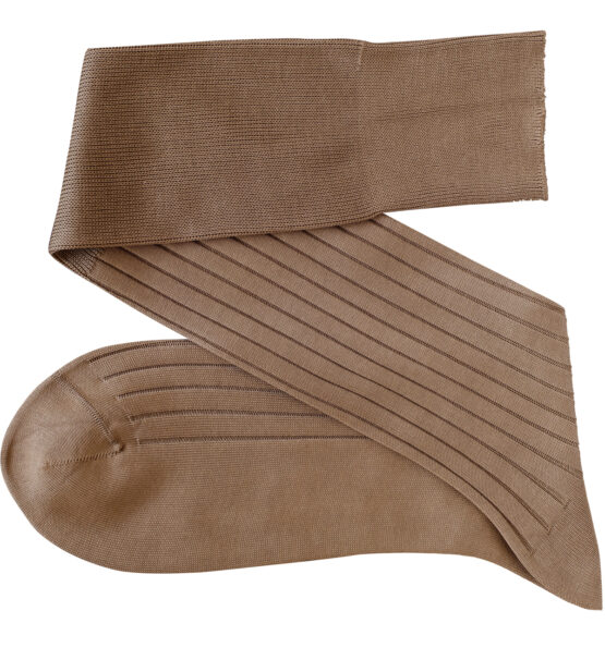 Viccel tan Over the calf socks Over the knee cotton luxury socks