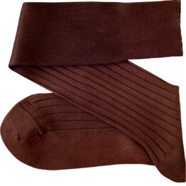 Viccel Brown Over the calf socks Over the knee cotton luxury socks buy socks