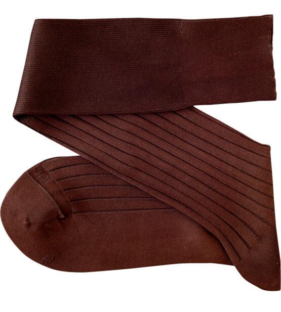 Viccel Brown Over the calf socks Over the knee cotton luxury socks buy socks