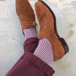luxury socks cotton socks buy gift socks gift for him wedding socks houndstooth socks