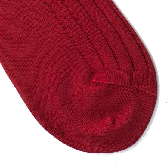 Viccel claret red Blue Over the calf socks Over the knee cotton socks