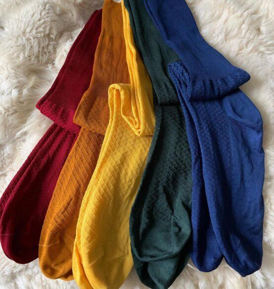 Fishnet cotton socks viccel