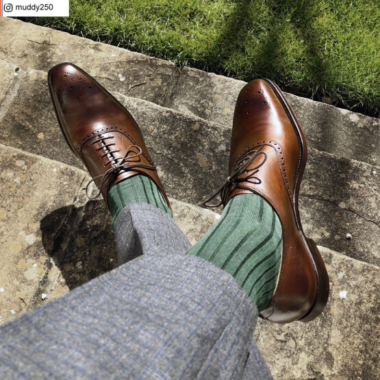 Viccel Socks - Forest Green Cotton Lisle Dress Socks from our client if you are asking where to but quality socks at reasonable prices