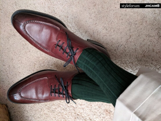 Forest Green Cotton Socks the photo taken by our client where to buy quality socks luxury socks