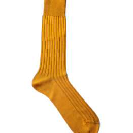 Viccel mustard Blue Mid calf socks Over the knee cotton socks