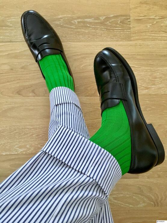 Viccel Socks Pistacio green luxury socks buy socks cotton socks loafer shoes