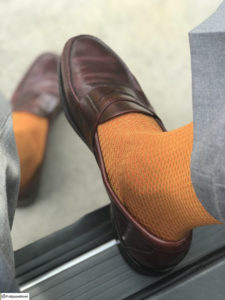Viccel Socks Mustard Orange fishnet cotton socks buy socks luxury socks