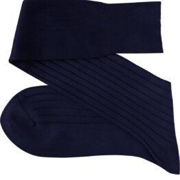Navy Blue Over the calf socks Over the knee cotton socks Buy socks