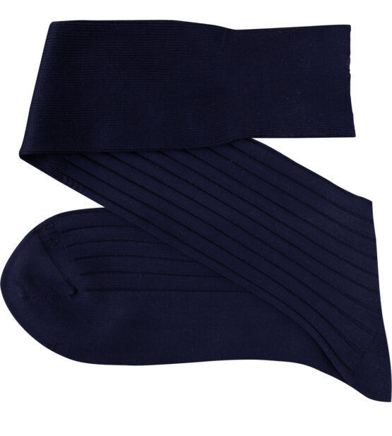 Navy Blue Over the calf socks Over the knee cotton socks Buy socks