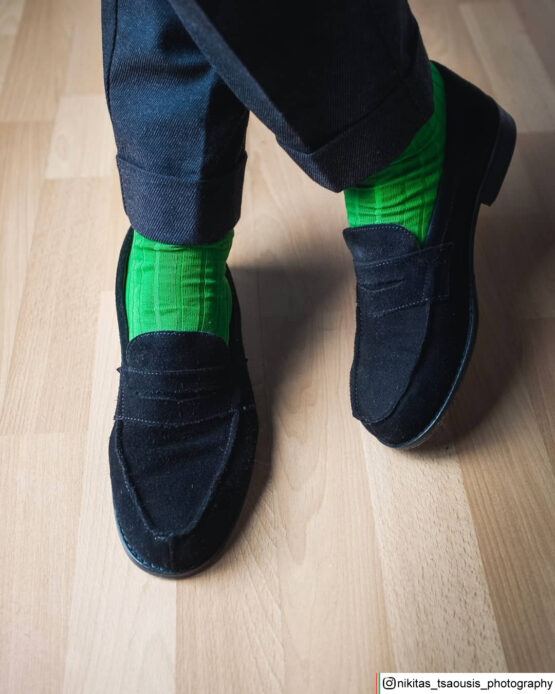 Green Cotton Luxury Socks buy socks