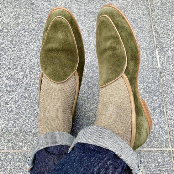 tan cotton socks @nkapped