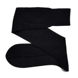 black cotton socks