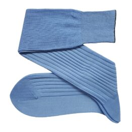 viccel sky blue cotton socks