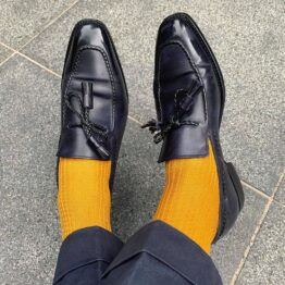 luxury dress socks