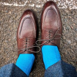 Viccel socks Turquoise cotton luxury socks gidt socks
