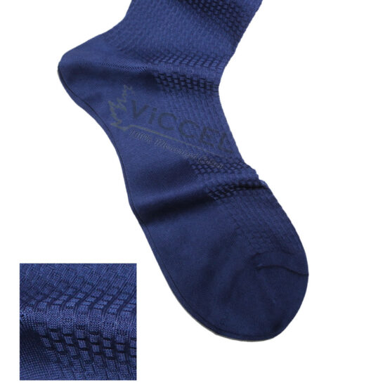 Viccel Socks Textured Egyptian Blue Brick Socks