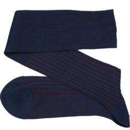 viccel shadow socks dark navy burgundy