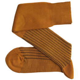 Mustard Brown Shadow cotton Viccel socks