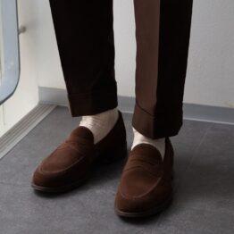 viccel undyed cotton socks