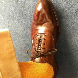 Viccel Socks - Golden Brick Mid calf Cotton socks the photo taken by our client if you are asking where to buy quality socks at reasonable prices