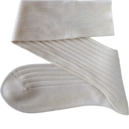 Viccel Luxury Socks Undyed Cotton Socks