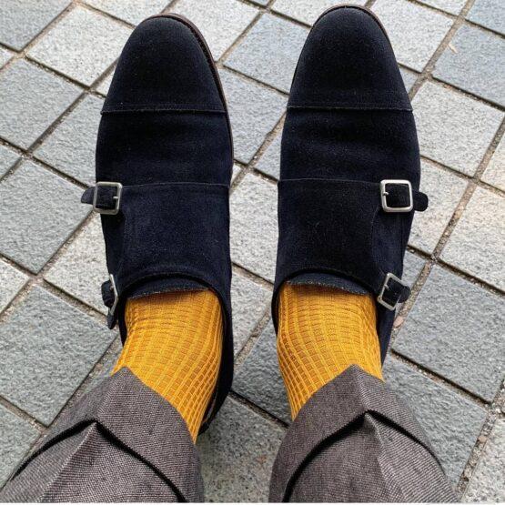viccel brick textured cotton socks