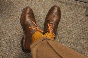 viccel luxury mustard golden socks cotton socks dress socks
