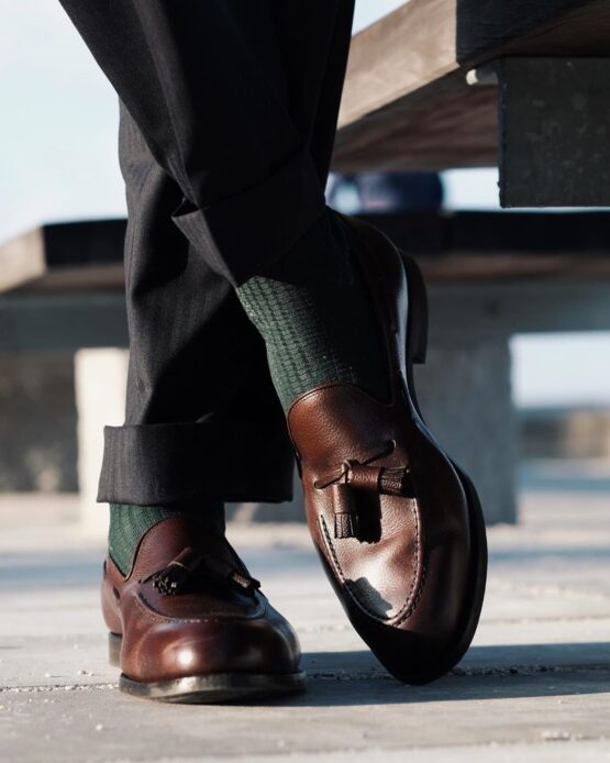 viccel socks brick forest green aleksjj
