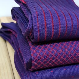 viccel Purple cotton socks
