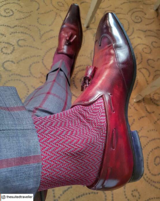 New 100%Egytian Cotton herringbone chevron socks luxury socks dress socks cotton socks buy socks gift socks gift for him Christmas Gift Herringbone socks