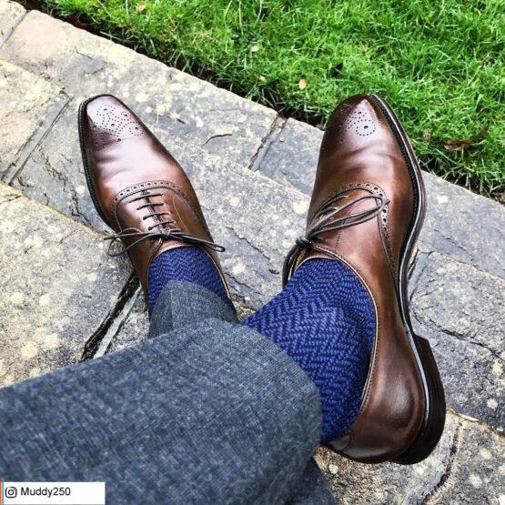 100%Egytian Cotton herringbone chevron socks luxury socks dress socks cotton socks buy socks gift socks gift for him Christmas Gift Herringbone socks