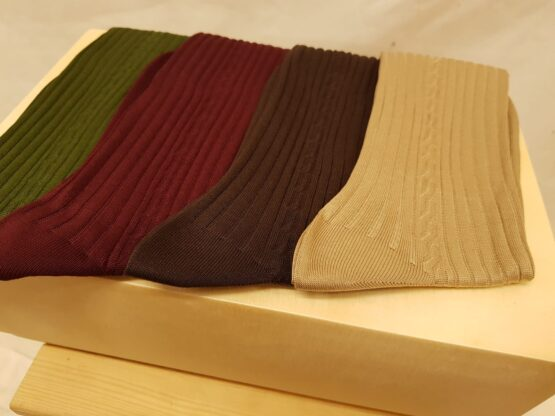 viccel socks cable knit socks