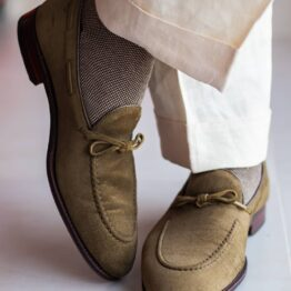 Viccel Brown beige shadow socks