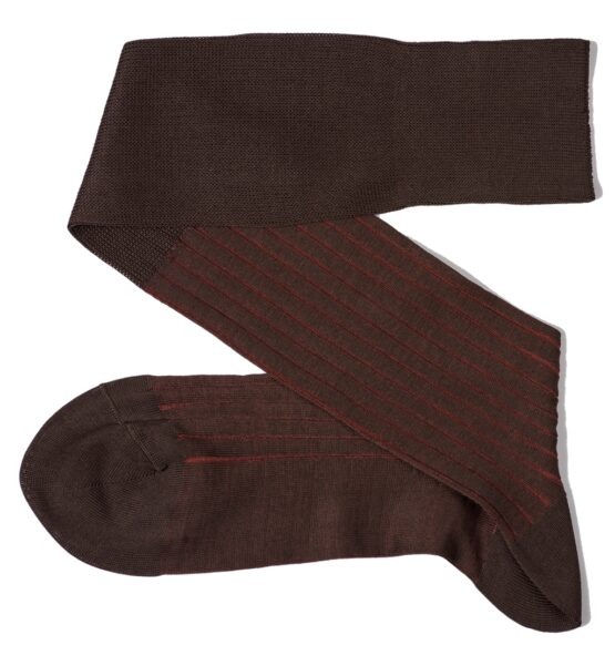brown taba shadow luxury socks gift for him