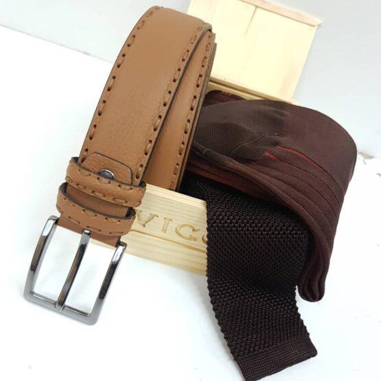 viccel leather belts silk ties shadow socks luxury accessory