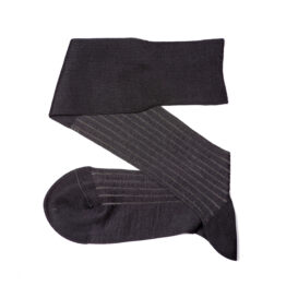 Viccel Charcaol Gray shadow luxury socks