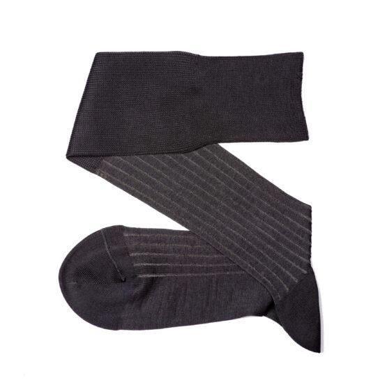 Viccel Charcaol Gray shadow luxury socks