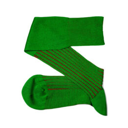 Viccel Pistacio Green Red Shadow Socks