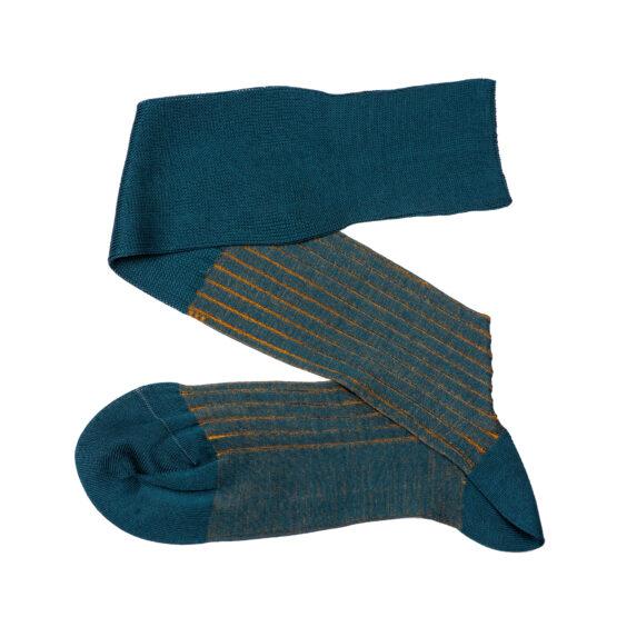 Viccel shadow petrolium Green mustard shadow socks cotton gift socks