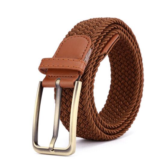 Viccel luxury elastic belts brown